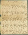 Letter from Miller Davison in Monroe County, Alabama, to James Dellet in Washington, D.C.