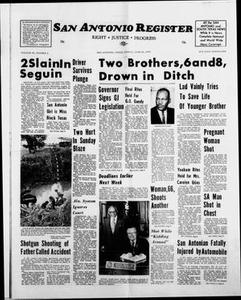 San Antonio Register (San Antonio, Tex.), Vol. 43, No. 2, Ed. 1 Friday, June 29, 1973 San Antonio Register