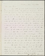 Letter to] Dear bro[ther] George [manuscript