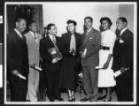 California Eagle award ceremony, Los Angeles, ca. 1949