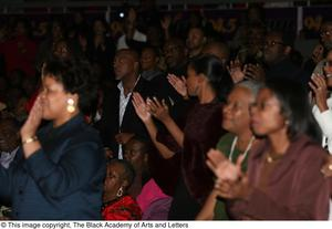Audience Applauding Black Music and the Civil Rights Movement Concert