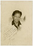 """[Ray Carter, member of the """"Sweethearts"""" : black-and-white photoprint]"""