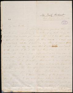 Letter from Emily Sturtevant, New Bedford, to Amos Augustus Phelps, Nov. 19. 1838