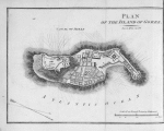 Plan of the Island of Goree