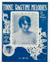 Those ragtime melodies