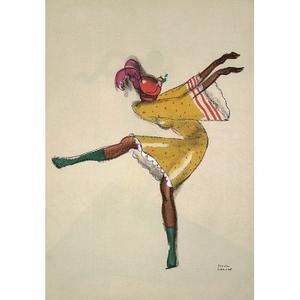 Le Tumulte Noir/Dancing Woman in Yellow