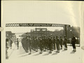Photograph, [A Panoramic View of Platoon of African American Troops at Parade Rest at the Port of Oswego, N.Y., n.d.].