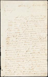 Letter from John Montgomery Sterling, Salisbury, [Connecticut], to William Lloyd Garrison, 1833 Dec[ember] 24