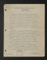 Background Information. Historical summaries, undated and 1911-1970s. (Box 1, Folder 2)