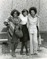 African-American students pose for the camera, fall 1976
