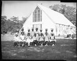 Nursery School Graduates [Fourth?] Presb[yterian] Church, May 1964 [cellulose acetate photonegative]