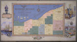 Western Reserve and the Firelands of Ohio (Mural map)
