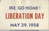 Anti-Eisenhower Statement