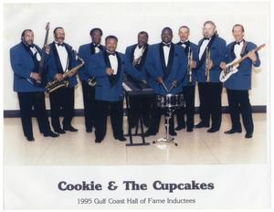 [Photograph of Cookie and the Cupcakes]