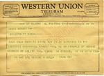 Dr. and Mrs. George W. Hill to James Meredith (Undated)