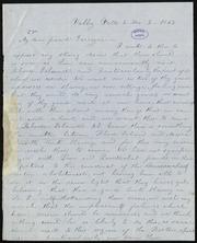 Letter to] My dear friend Garrison [manuscript