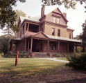 The Oaks, the home of Booker T. Washington on the campus of Tuskegee Institute in Tuskegee, Alabama.