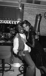 Donald Bohana and an unidentified woman, Los Angeles, 1989
