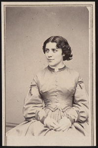 [Anna Elizabeth Dickinson, orator, abolitionist, advocate for women's rights, and the first woman to speak before Congress]