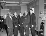 Five men, Los Angeles, 1962