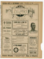 """A Black Sheep"" theater program, Bijou Opera House, Minneapolis, Minnesota"