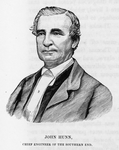 Officers of the road; John Hunn, chief engineer of the southern end