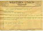 Mrs. George Dwyer to James Meredith (Undated)