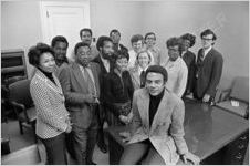 Andrew Young and Staff