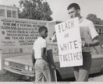 Civil Rights Protest at Arkansas AM&N College