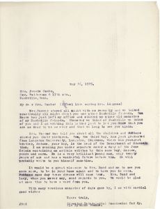 Thumbnail for Bond, James, correspondence