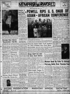Memphis World, 1955 April 22nd