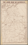 The army map of Georgia