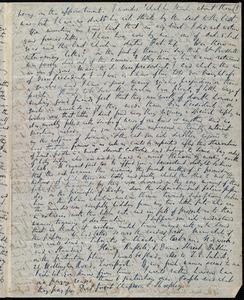 Partial letter from Richard Davis Webb, [Dublin, Ireland?], to Maria Weston Chapman, [1846]