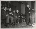 Richard J. Daley at a re-election rally