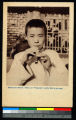 Flute player, China, ca.1920-1940