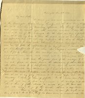 Letter from Charlotte to Samuel Cowles, 1839 December 16