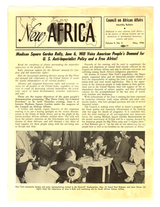 New Africa volume 5, number 5