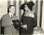 Thumbnail for Marian Anderson Receives Award at a Pyramid Club Art Exhibition