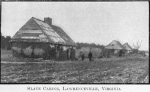 Slave Cabins, Lawrenceville, Virginia
