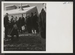 People from the Manzanar Relocation center were moved to the Tule Lake Segregation Center and quartered in the ten blocks