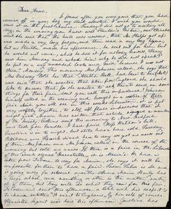 Letter from Lucia Weston, [Boston, Mass.], to Anne Warren Weston, [1839]