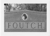 Alexandria Cemeteries Historic District: Foutch tombstone