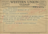 Students of University of Waterloo to James H. Meredith (2 October 1962)