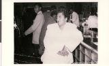 """Photograph of """"Olivia"""" at Elks Bar, circa 1950"""