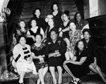Louise Beavers and friends