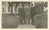 Male Faculty, 1920-1921 (Harry C. Wolford, Russell Ratliff, Laurence Scott, Joseph Charles Penn, Fred Tharp)