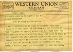 Bill and Anne McAfee to James Meredith (Undated)
