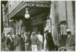 Entrance to a movie house, Beale Street, Memphis, Tennessee, October 1939