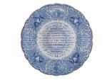Ceramic Plate, 1830s