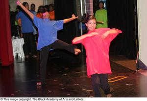 Young Performers Dancing Hip Hop Broadway: The Musical